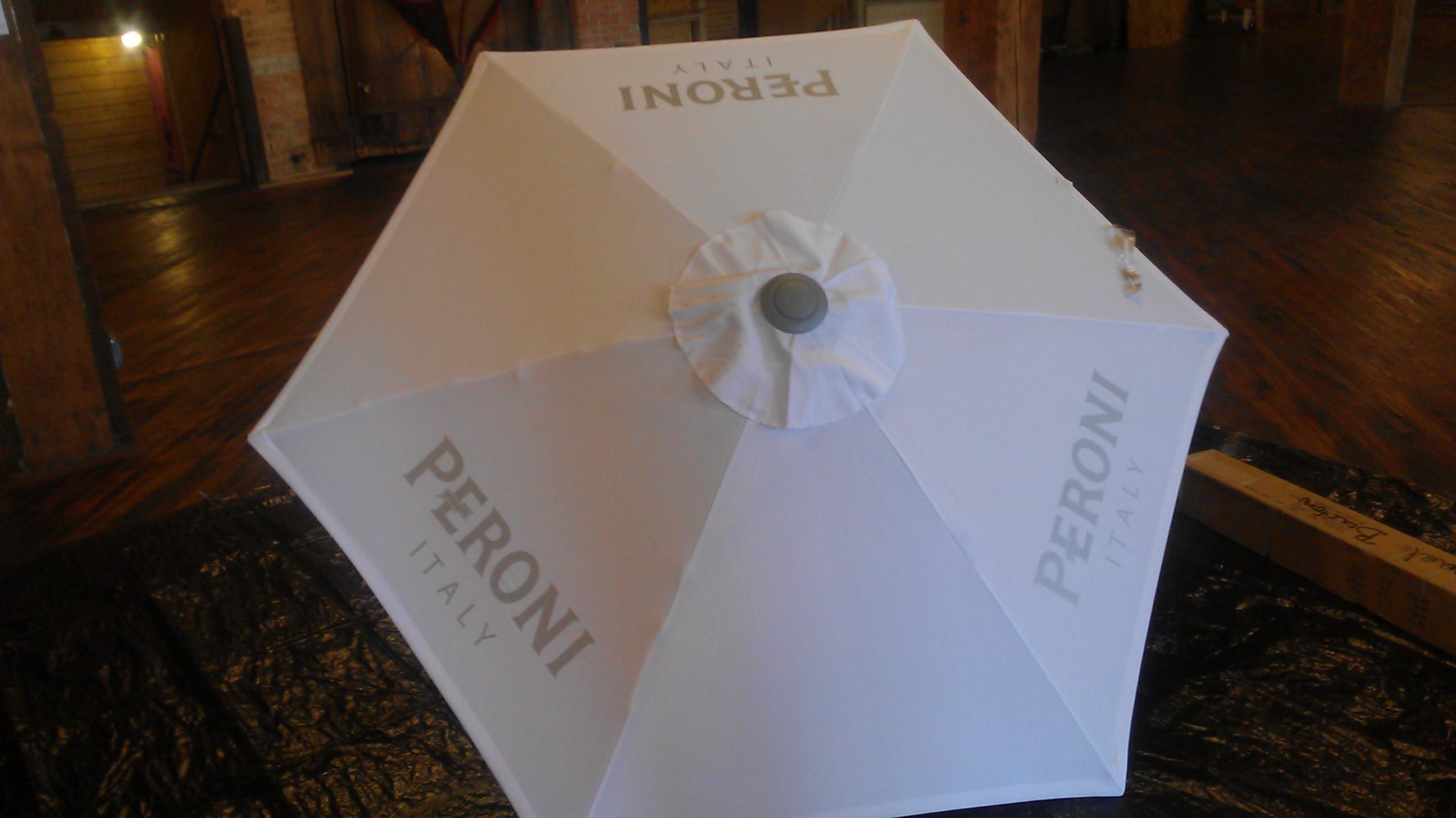 peroni beer umbrella project
